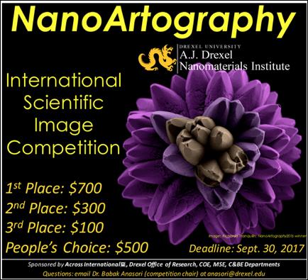 CDMF participa de concurso de Nanoarte