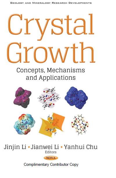 Pesquisadores do CDMF publicam capítulo em livro sobre cristais