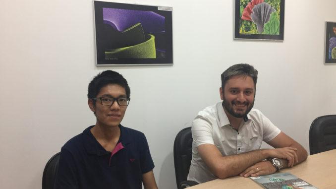 Pesquisadores da Universidade Tecnológica Federal do Paraná visitam CDMF